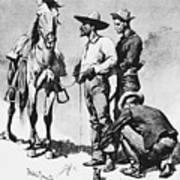 Fr 043 Third Cavalry Trooper Searching A Suspected Revolutionist Fredericremington Sqs Frederick Remington Art Print