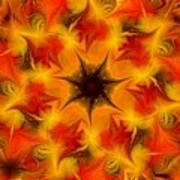 Fractal Garden 6 Art Print