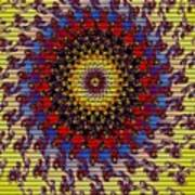Fractal Outburst Catus 1 No. 10 -sunsettia For Lea V A Art Print