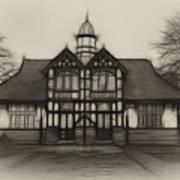 Fractal Pavilion Art Print