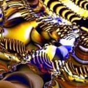Fractal Structures Art Print