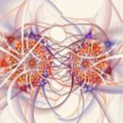 Fractal Synapse Art Print