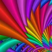 Fractalized Colors -7- Art Print by Issabild -