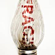 Fragile Light Bulb Art Print