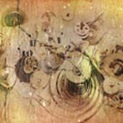 Fragmented Time Print by Michal Boubin