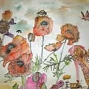 Fragrance  Of Garden Album Art Print
