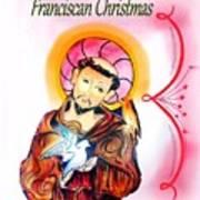 Franciscan Greeting Card Art Print by Myrna Migala