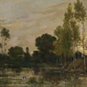 Francois Daubigny   Alders Art Print