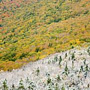 Franconia Notch State Park - White Mountains Nh Usa Autumn Art Print