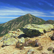 Franconia Ridge And Mount Lafayette Alpine Art Print