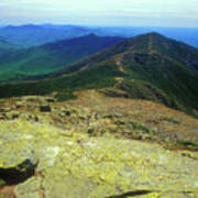 Franconia Ridge Trail Art Print