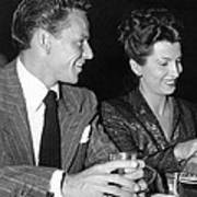 Frank Sinatra And Nancy Art Print