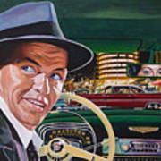 Frank Sinatra - The Capitol Years Art Print