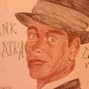 Frank Sinatra - The Voice Art Print