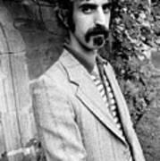 Frank Zappa 1970 Print by Chris Walter