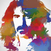 Frank Zappa Watercolor Art Print