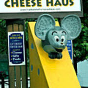 Frankenmuth Cheese Haus Mouse  Art Print