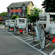 Frankenmuth Michigan Carriages At The Mill Art Print