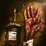 Frankenstein Transplant Experiment Art Print