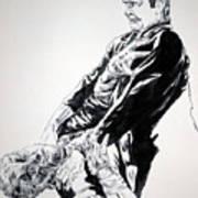 Frankenstein Vs. The Wolfman Art Print