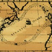 Franklin Chart, 1786 Art Print