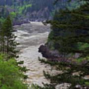 Fraser River British Columbia Art Print