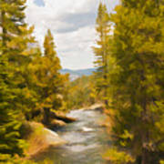 Frazier Creek Art Print