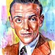 Fred Astaire Painting Art Print