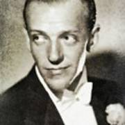 Fred Astaire, Vintage Actor And Dancer Art Print