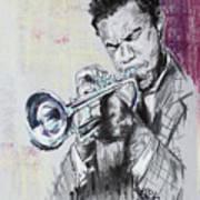 Freddie Hubbard Art Print