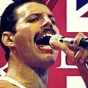 Freddie Mercury, Queen Art Print