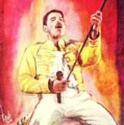 Freddy Mercury Art Print
