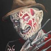 Freddy's Back Art Print
