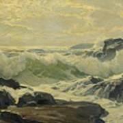Frederick Judd Waugh 1861   1940 Coast Of Maine Art Print