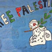 Free Palestine Peace Art Print