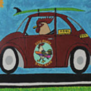 Free Range Bug Art Print