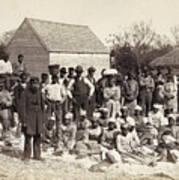Freed Slaves, 1862 Print by Granger
