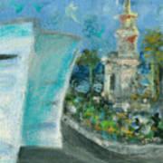 Freedom Tower And Aaa Art Print