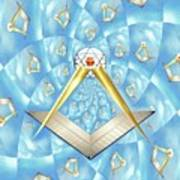 Freemason Symbolism Art Print