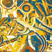 Freeway Variations Art Print