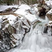 Freeze On The Basin Trail Nh Art Print