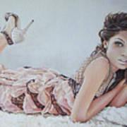 Freida Pinto Art Print