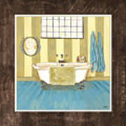 French Bath 2 Art Print