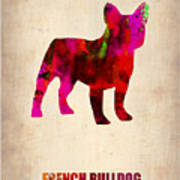 French Bulldog Poster Print by Naxart Studio