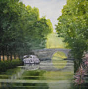 French Canal Art Print