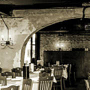 French Country Restaurant 2 Art Print