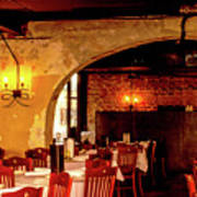 French Country Restaurant Art Print