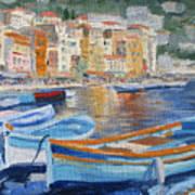 French Harbor Art Print