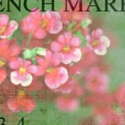 French Market Series I Art Print