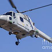French Navy Westland Sea Lynx Art Print